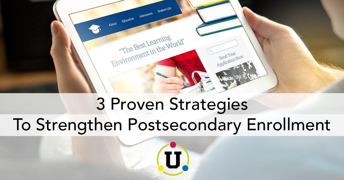 Strategies Postsecondary Enrollment